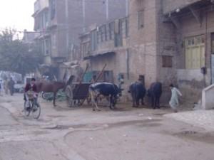 Pakistans Streets - A striking border change