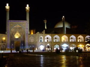 Imam Square at night, Isfahan (click to enlarge)