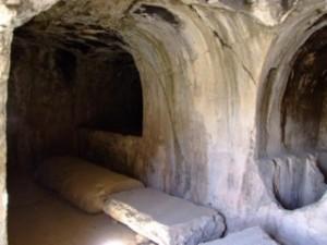 Inside the Tombs behind Perseopolis