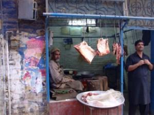 Butchers in Pakistan