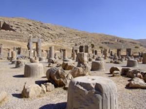 Pillars in Perseopolis