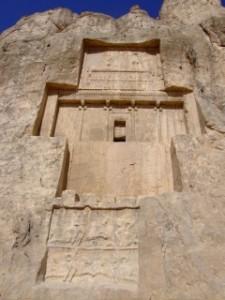 Tomb at Naqsh-e Rotam, Iran.