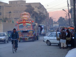 Downtown Quetta (click to enlarge)