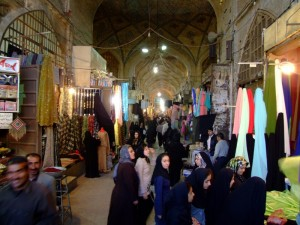 Bazaar in Shiraz (click to enlarge)