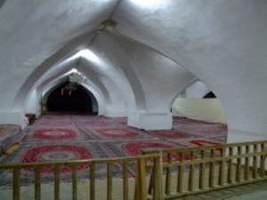Underground prayer room in Mosque de Jameh