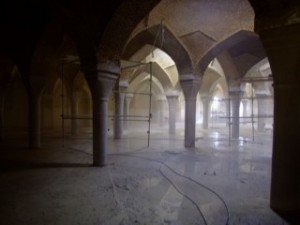 Under Mosque de Jame, Esfahan
