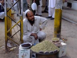 Freindly vendor in Pakistan