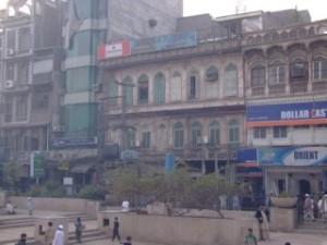 Old buildings in Peshawar