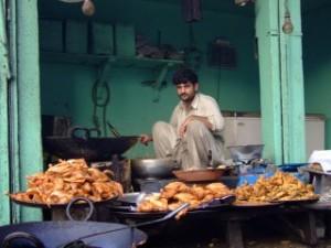 Street food in Pakistan