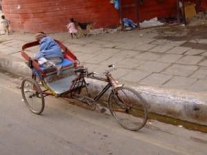 Cycle Rickshaw in India