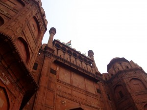 The Red Fort Entrance way, Delhi, India (click to enlarge)