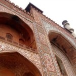 The Walls of Akbar's Tomb, Agra, Delhi, India