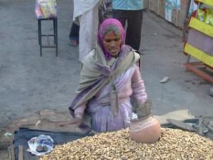 Indian Peanut Seller
