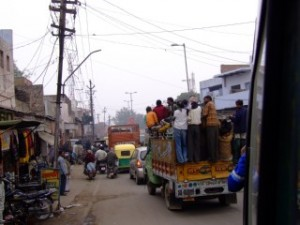 Public transport in India, the trains work just not from Amritsar booking office