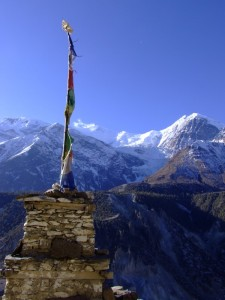 Mountain Beauty in Nepal (click to enlarge)