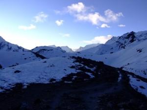 Pre Dawn over the Throung Pedi Pass (clcik to enlarge)