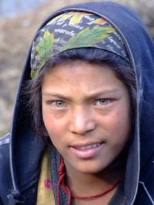 Green Eyed Nepalese Girl (click to enlarge)