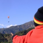 Annual Paragliding contest in Pokhara