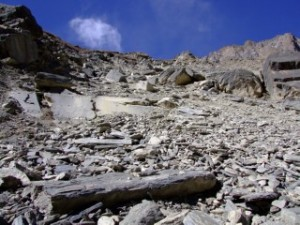 Path to the high camp, Nepal