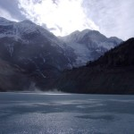 Frozen Lake in Manang, Nepal (click to enlarge)