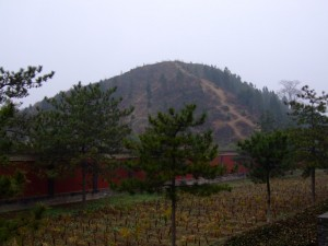 One of the Lost Pyramids in China (click to enlarge)