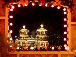 Christmas Lights from Window