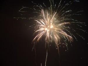 Some Big Fireworks