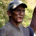 Local Ifuago man in Banaue, The Philippiness