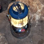 Gas Lantern for caving in the Philippines
