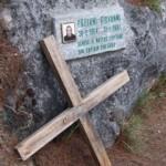 Memorial for Italian Tourist in Sagada