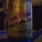 San Miguel beer, the no 1 beer in the Philippines