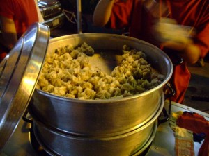 Steamed street Siomai (click to enlarge)
