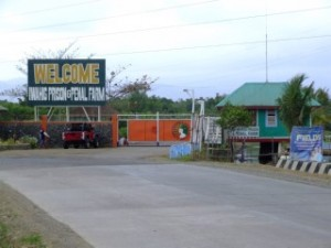 Entrance to Iwahig Prison and Penal Farm