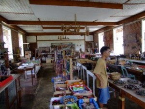 Iwahig Prison souvenir shop, the best in the Philippines