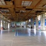 Inside the recreation hall of Iwahig Prison, The Philippines