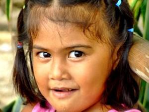 Filippina girl in Sabang