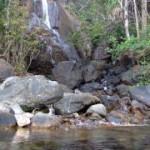 The waterfall in Sabang