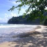 Beach crossing in Sabang