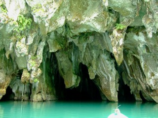 Entrance to the Subterranean Cave in Palawan