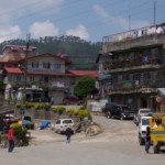A view of downtown Sagada, Philippines