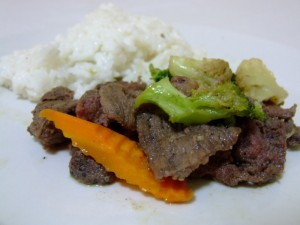 Beef Tapa from the Philippines (click to enlarge)