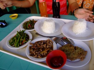 Student food from the Philippines
