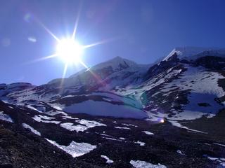 5000 Meter sunrise in Nepal