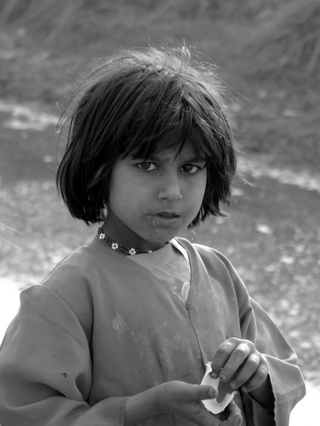 Afghan Refugee Girl in Pakistan