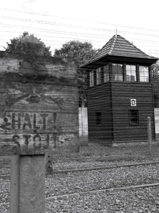 Sentry post in Auschwitz - Poland