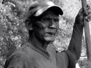 Ifugao Rice Terrace Worker, Batad, The Philippines