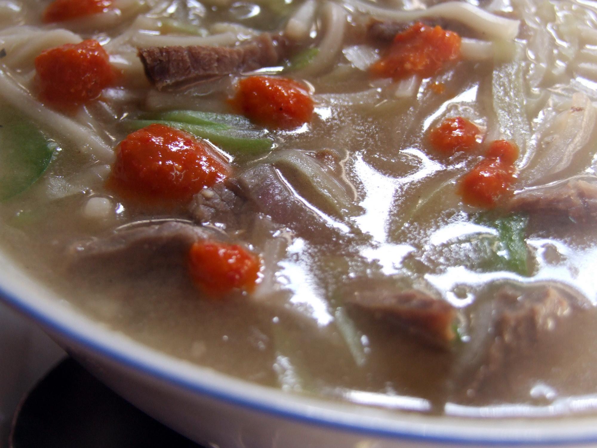 Thukpa Soup in Nepal