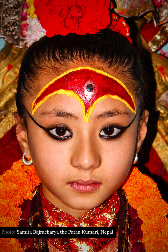 Samita Bajracharya, Kumari in Nepal