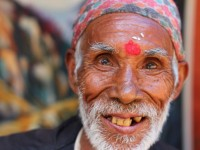 Smiling man from Bhaktapur, Nepal