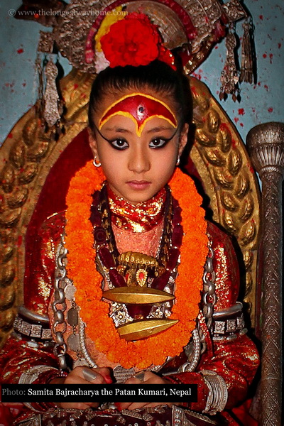The Kumari Samita Bajracharya - Living Goddess